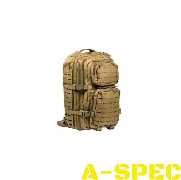 Рюкзак тактический 36 литров LASER CUT койот Miltec