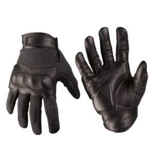Перчатки тактические огнеупорные Nomex черные. Miltec