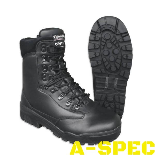 Зимние ботинки с мембраной DINTEX Черные Mil-Tec