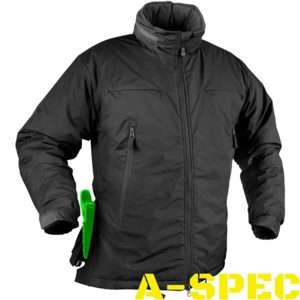 Куртка зимняя HUSKY TACTICAL черная. Helikon