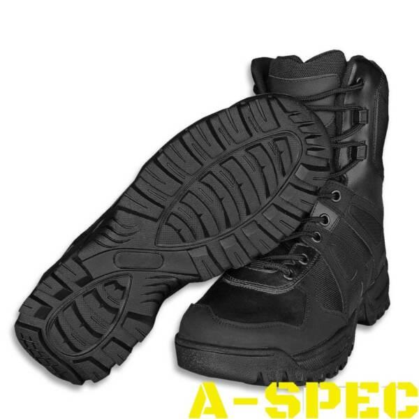 Ботинки COMBAT BOOTS GENERATION II Miltec чёрные