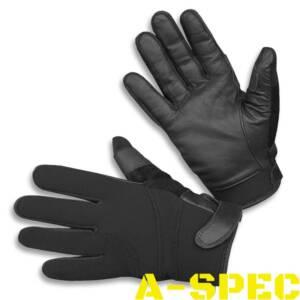Перчатки Neopren / Kevlar порезостойкие черные. Miltec
