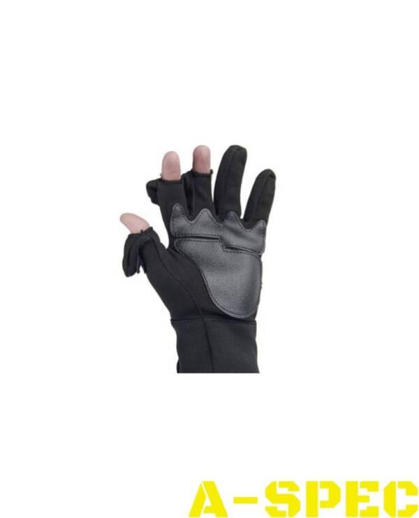 Перчатки Amaro стрелковые черные. Miltec