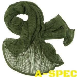 Сетка-шарф маскировочная олива