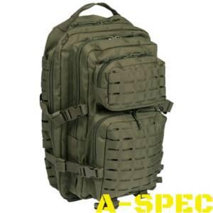 Рюкзак тактический 36 литров LASER CUT олива Miltec