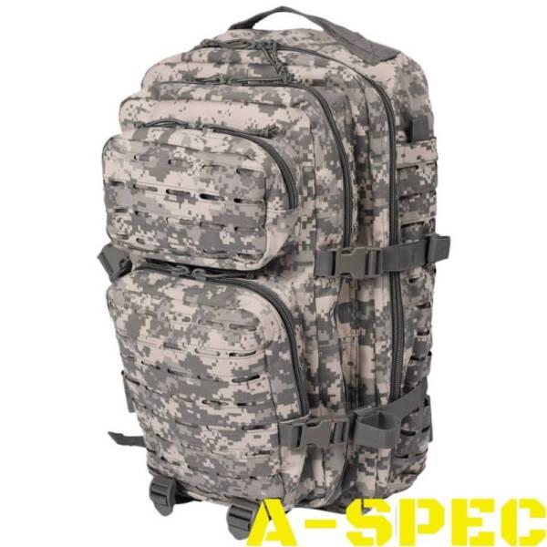 Рюкзак тактический 36 литров LASER CUT ACU Miltec