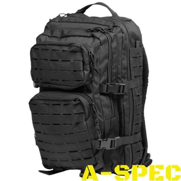 Рюкзак тактический 36 литров LASER CUT черный Miltec