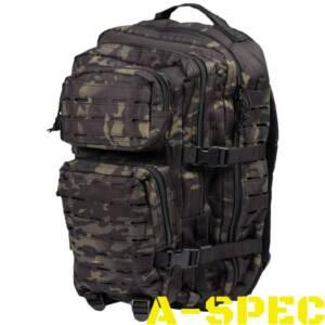 Рюкзак тактический 36 литров LASER CUT multicam black Miltec