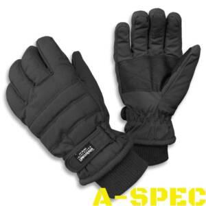 Перчатки зимние Thinsulate черные Miltec