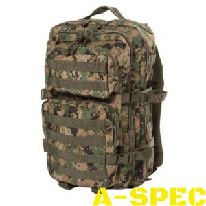 Рюкзак тактический 36 литров Digital Woodland Miltec