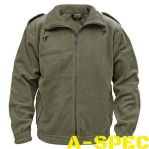 Куртка флисовая олива. Miltec