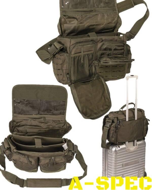 Тактическая сумка TACTICAL PARACORD BAG LG Черная