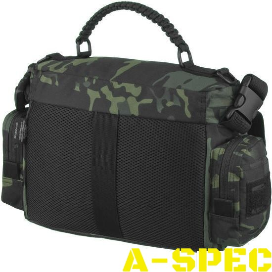 Тактическая сумка TACTICAL PARACORD BAG LG Multicam Black