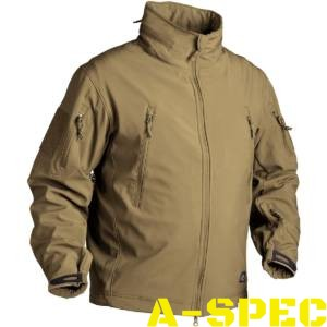 Куртка тактическая Gunfighter Soft Shell Coyote. Helikon-tex