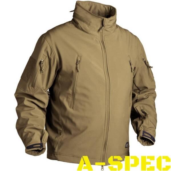 Куртка тактическая Gunfighter Soft Shell Coyote. Helikon-tex