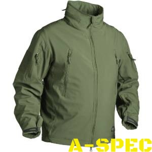 Куртка тактическая Gunfighter Soft Shell Olive. Helikon-tex
