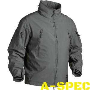 Куртка тактическая Gunfighter Soft Shell Shadow Grey. Helikon-tex