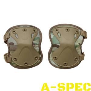Налокотники защитные тактические Х - образные multicam