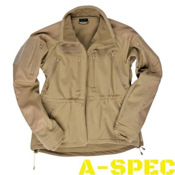 Тактическая куртка Softshell Jacket MT-Plus хаки