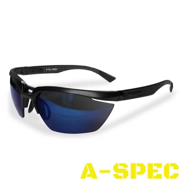 Очки тактические Swiss Eye C-Tec Carbon. Два стекла