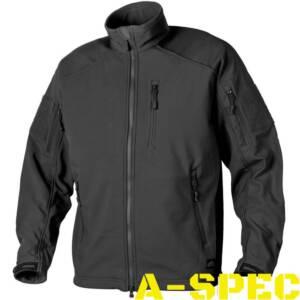 Куртка тактическая Soft Shell Delta Tactical чёрная. Helikon-tex