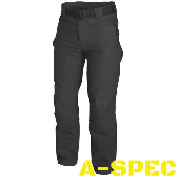 Тактические брюки UTP Black. Ripstop. Helikon-tex