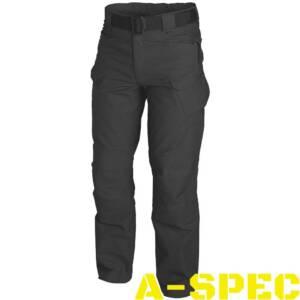 Тактические брюки Canvas UTP Black. Helikon-tex