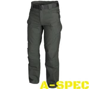 Тактические брюки Canvas UTP Jungle Green. Helikon-tex
