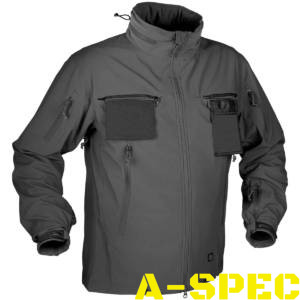 Куртка тактическая Cougar Soft Shell QSA Shadow Grey. Helikon-tex