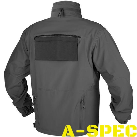 Куртка тактическая Cougar Soft Shell QSA Shadow Grey. Helikon-tex
