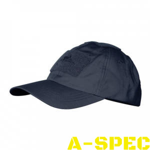 Бейсболка PolyCotton Ripstop Navy Blue. Helikon-tex