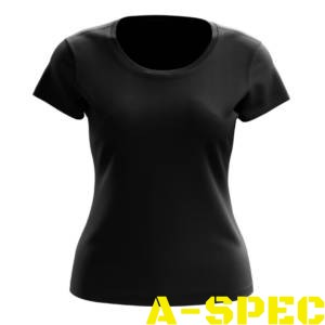 Женская тактическая футболка Helikon черная
