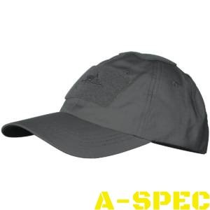 Бейсболка PolyCotton Ripstop Shadow Grey. Helikon-tex