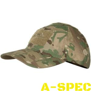 Бейсболка Cotton Ripstop Multicam. Helikon-tex