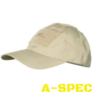 Бейсболка Cotton Ripstop Khaki. Helikon-tex