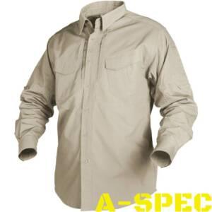 Рубашка тактическая Defender Long Khaki. Helikon