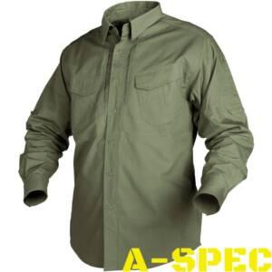 Рубашка тактическая Defender Long олива. Helikon