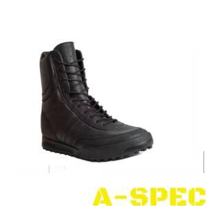 Ботинки Antiterror черные кожаные. Garsing