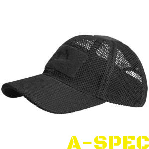 Бейсболка Mesh Black Helikon-tex