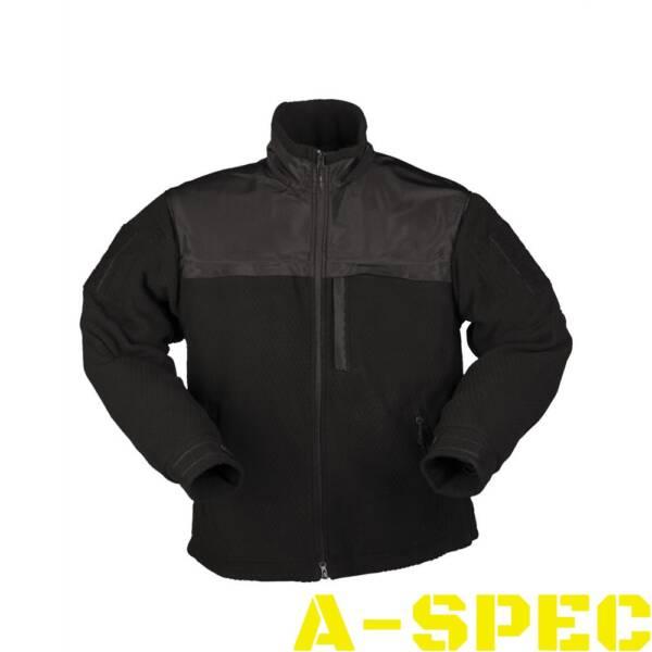 Куртка флисовая ELITE FLEECE JACKE HEXTAC Черная