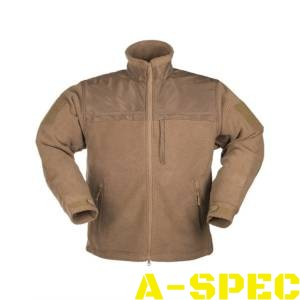 Куртка флисовая ELITE FLEECE JACKE HEXTAC DARK COYOTE