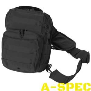 Рюкзак однолямочный ONE STRAP ASSAULT Черный