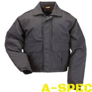 Куртка с подстежкой Double Duty Jacket Black. 5.11 Tactical
