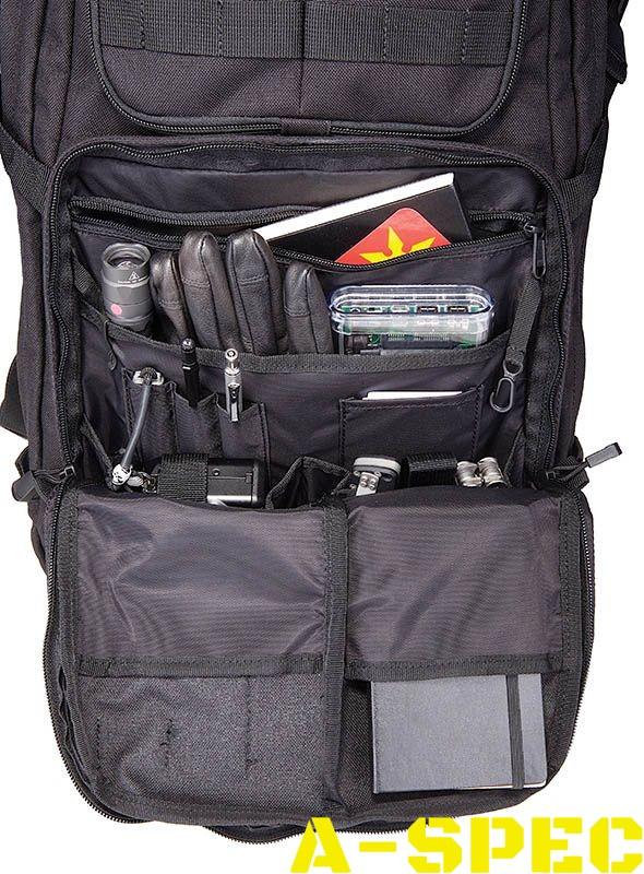 Тактический рюкзак RUSH 24 черный. 5.11 Tactical