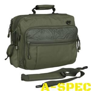 Сумка-рюкзак АВИАТОР олива. Для ноутбука, документов