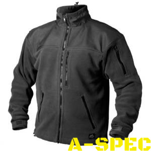 Флисовая куртка CLASSIC ARMY FLEECE черная. Helikon-tex