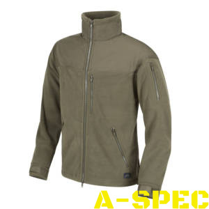 Флисовая куртка CLASSIC ARMY FLEECE олива. Helikon-tex