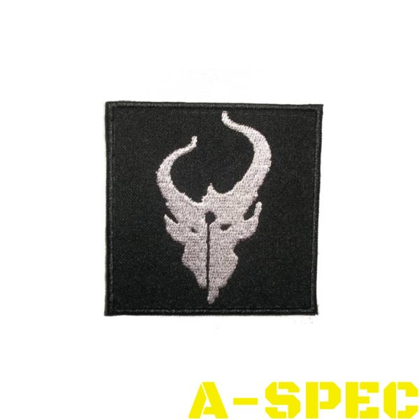 Нашивка Demon Hunter черная