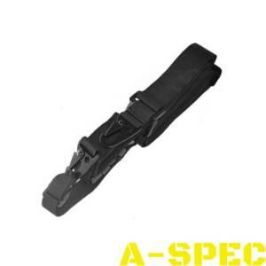 Ремень оружейный 3х точечный черный
