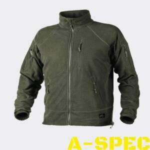 Куртка флисовая ALPHA TACTICAL Олива Helikon-Tex